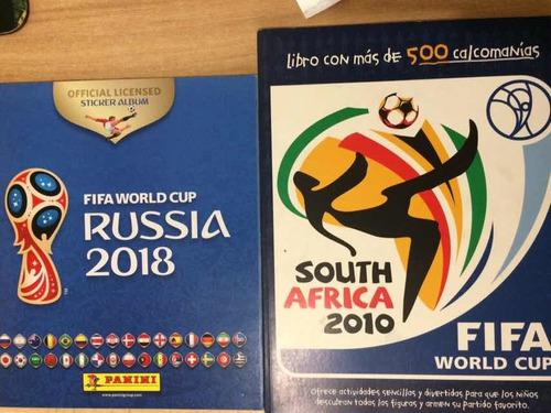 Album Stickers Mundial Sudafrica Y Panini Mundial Rusia 2018