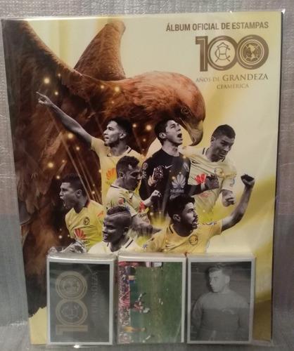 América 100 Años Album Panini + 191 Estampas (completo)