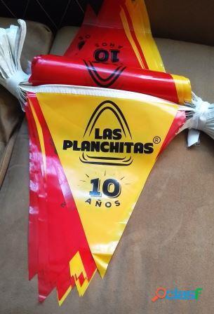 BANDERINES DE PLASTICO