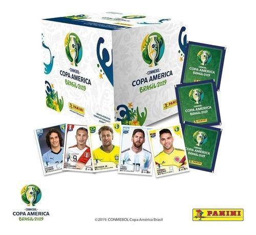 Caja 250 Estampas Copa America 2019 Panini