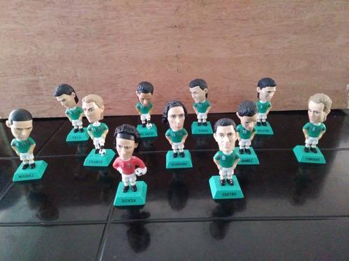 Coleccion 11 Cabezones Futbol Del Mundial Sudafrica 2010.