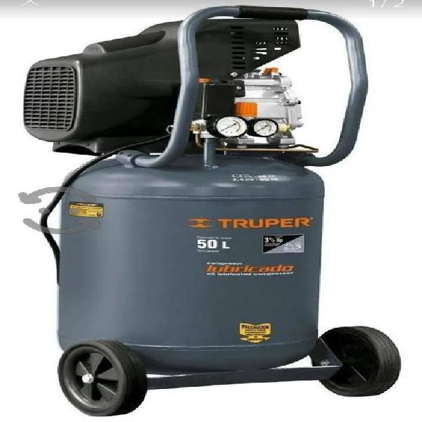 Compresor de aire Vertical Truper 50 lt