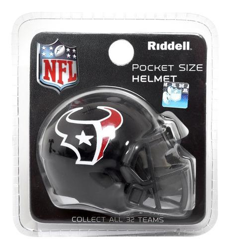Envio Incluido! Nfl Pocket Helmet Houston Texans