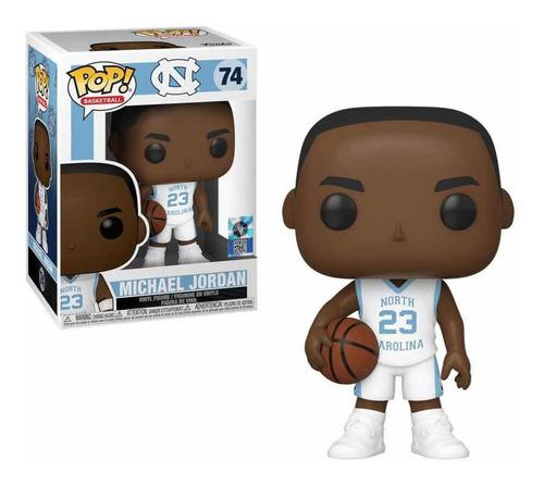 Funko Pop Michael Jordan 74 North Carolina Ncaa Basketball