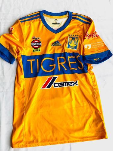 Jersey Tigres Uanl Clásico 113 Zelarayan Utileria