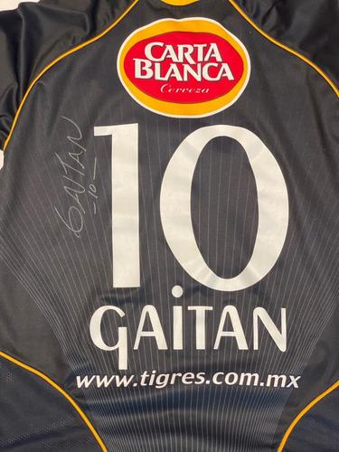 Jersey Tigres Uanl Walter Gaitan 2005 Firmado