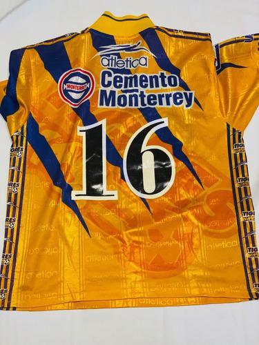 Jersey Utileria Atletica Tigres Diablo Nuñez Temp 1998