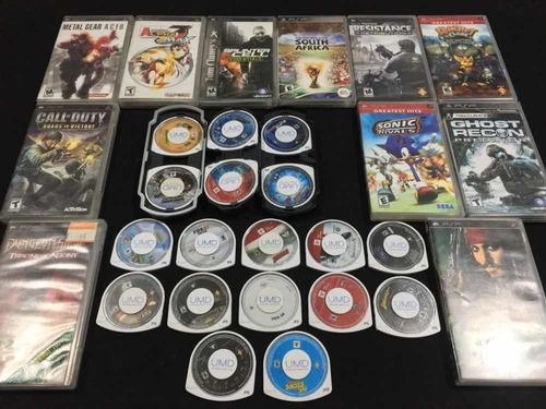 Lote De 29 Juegos Psp, Playstation Portátil, Call Of Dutty
