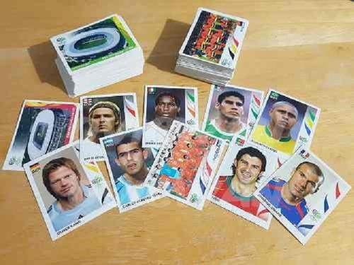 Lote De 460 Estampas Sin Repetir Del Mundial Alemania 2006