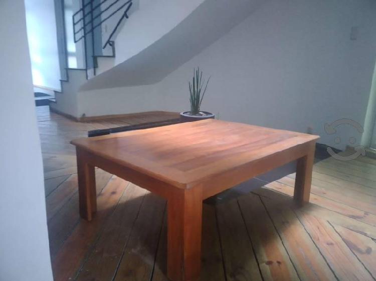 Mesa de centro madera