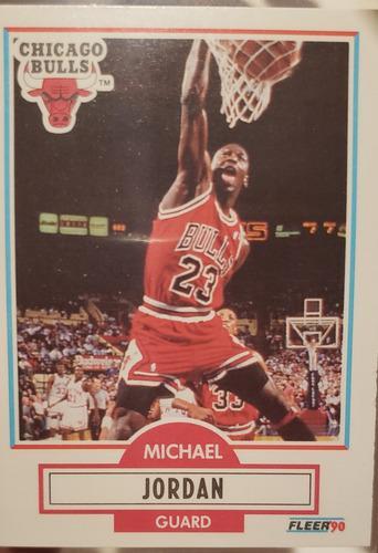 Michael Jordan Fleer 90 Tarjeta