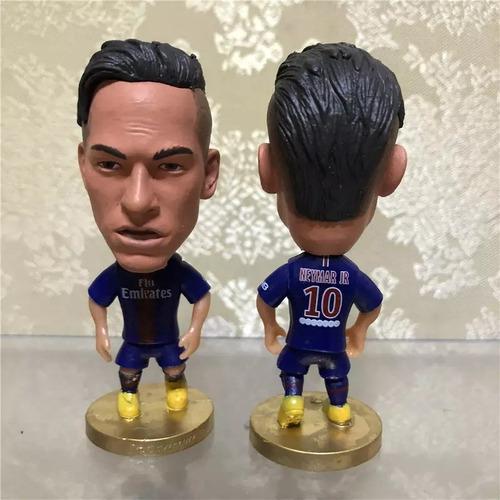Muñeco Figura Futbol Neymar Uniforme Paris Saint Germain