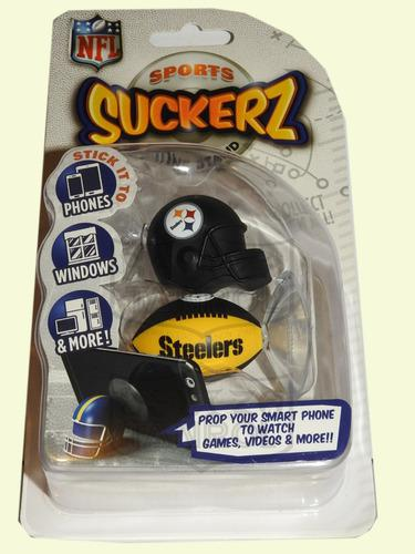 Nfl Pittsburgh Steelers Casco Balon Soporte Celular