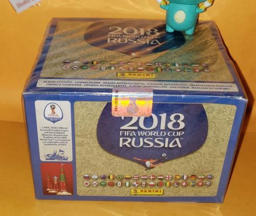 Panini Mundial Rusia 2018 Caja Con 100 Sobres
