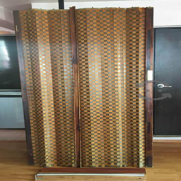 Puerta plegable de madera USADA para renovar