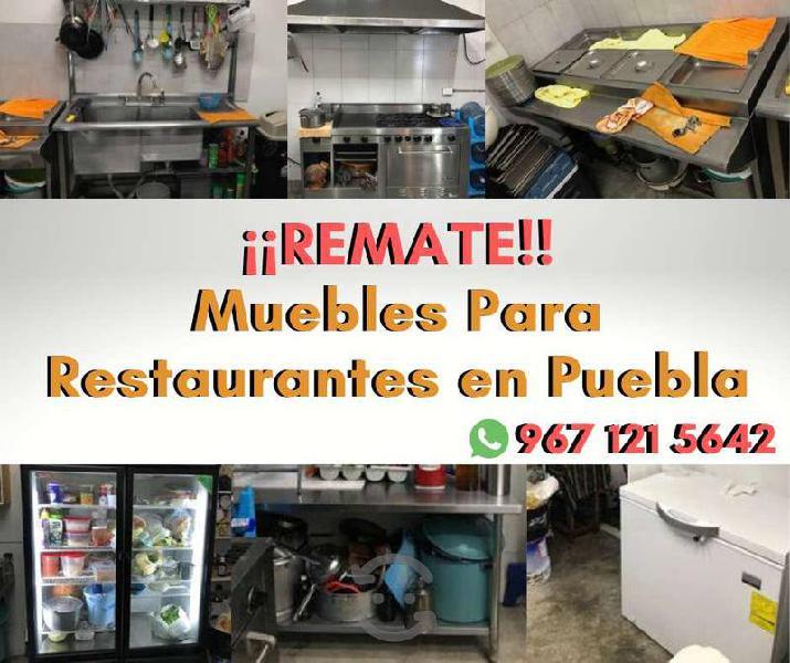REMATE de Muebles para Restaurantes!