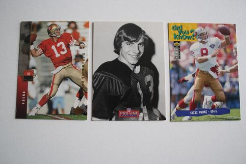 San Francisco 49ers, 30 Tarjetas Coleccionables, Niners Card
