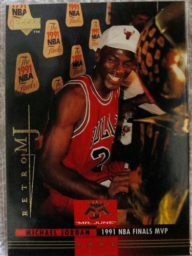 Tarjeta Coleccionable Michael Jordan Retro Upper Deck 1998