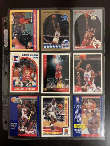 Tarjetas De Basquetbol 3 Nba Michael Jordan 100% Originales