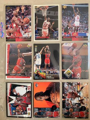 Tarjetas De Basquetbol 5 Nba Michael Jordan 100% Originales