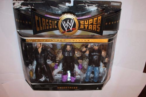 Wwe Figura Three Faces Of The Undertaker