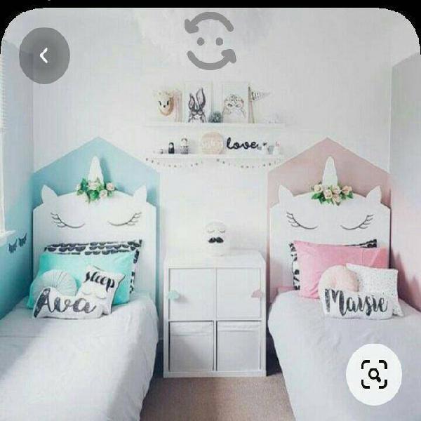 bases de madera camas gemelas