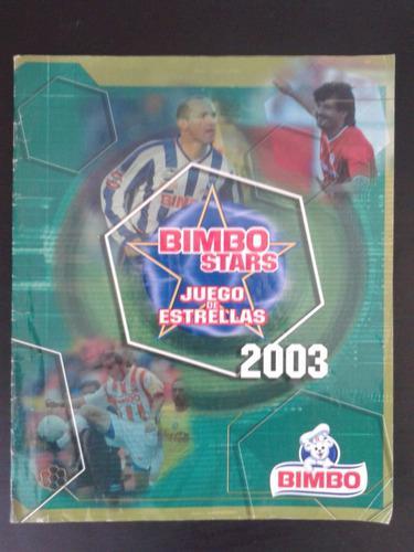 lbum Bimbo Stars Juego De Estrellas 2003