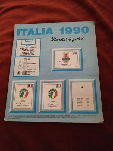 lbum Panini Italia 90 (sin Carátulas, 199 Estampas De