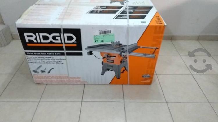 sierra de mesa Ridgid R 4512 nueva