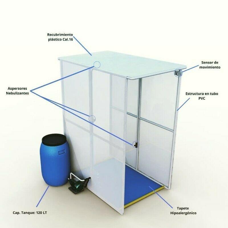 Cabina / Túnel Sanitizante automática