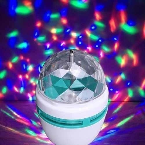 Foco Led Giratorio Rgb Led Luz Para Fiesta/disco De Colores
