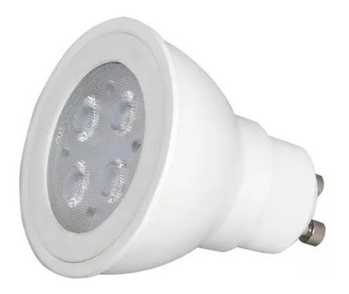Foco Led T. Mr16 Base Gu10 4w Luz Calida Voltech 46216