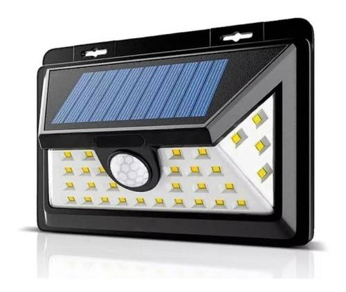 Lampara 44 Led Carga Solar Sensor Movimiento Para Exterior M