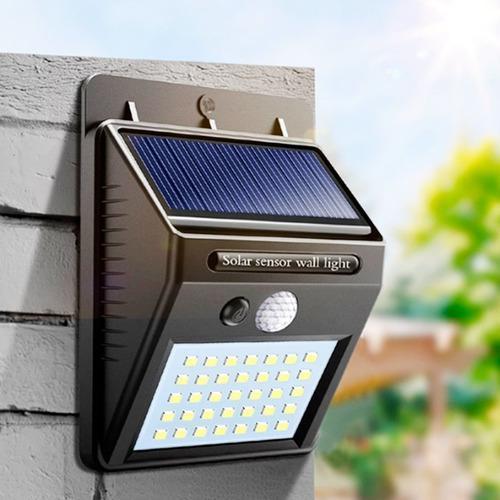 Lampara Led Luminario Arbotante Solar Exterior 2w 150lm
