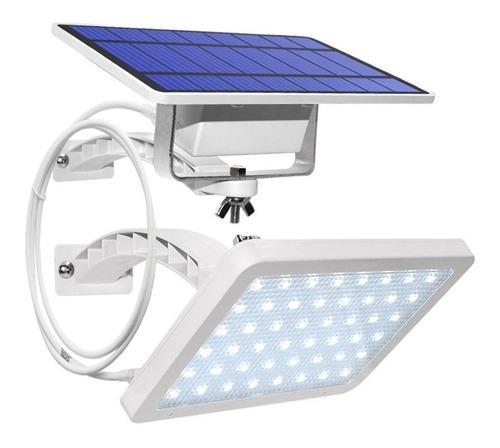 Lampara Solar 48 Leds Con Cable De 3 Metros Panel Externo
