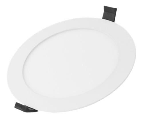 Lámpara Led 12w Empotrado Blanco 127-240v 6500k