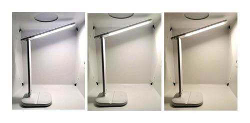 Lámpara Led Touch Para Mesa De Trabajo 3 Tonos Recargable