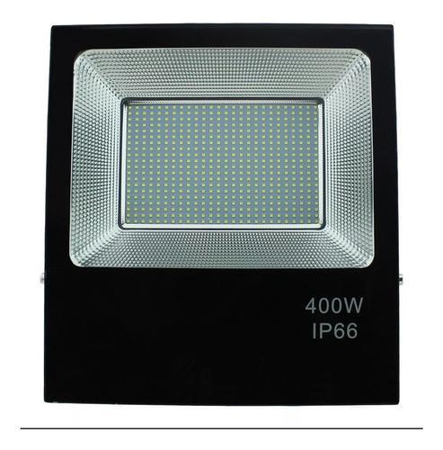 Lámpara Reflector Led Blanco Frío 400w Alumbrado Publico