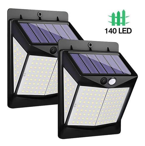 Luminaria De Luz Led Solar Recargable Para Exteriores