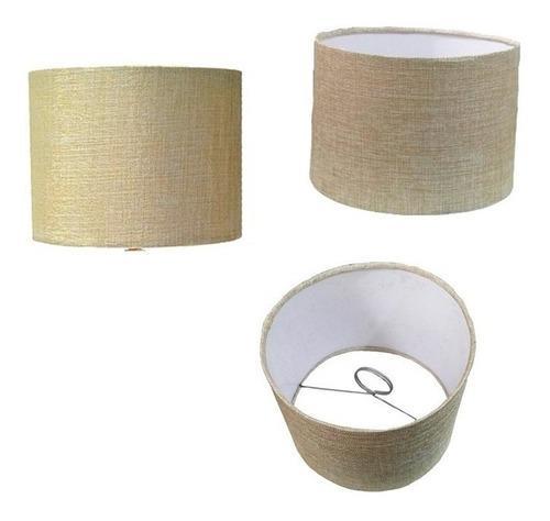 Pantalla Cilíndrica Para Lampara De Buro Mod 25x20-arena