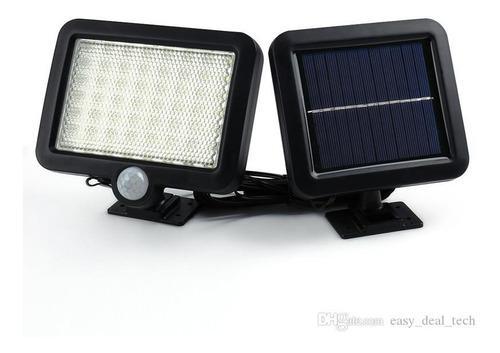 Proyector Led Solar Lampara Recargable Sensor 500 Lumens