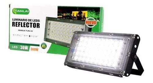 Reflector Led 30w Luminario Potente Iluminación Ultra