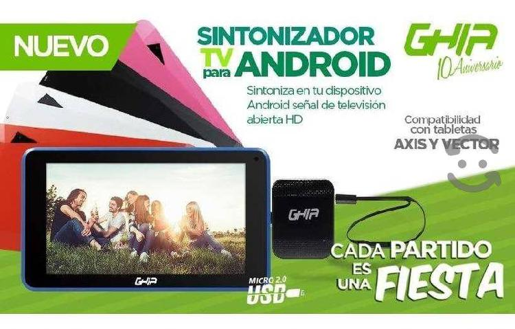 Sintonizador De Tv Android Ghia Para Celular Movil