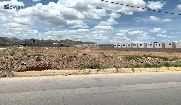 Terreno comercial en RENTA enseguida de Alsuper Riberas