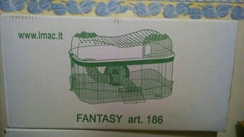 iMac Jaula Fantasy 3 Pisos 58x38x84.5 Hamster Jerbo Raton