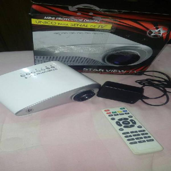 mini proyector digital STAR VIEW TV