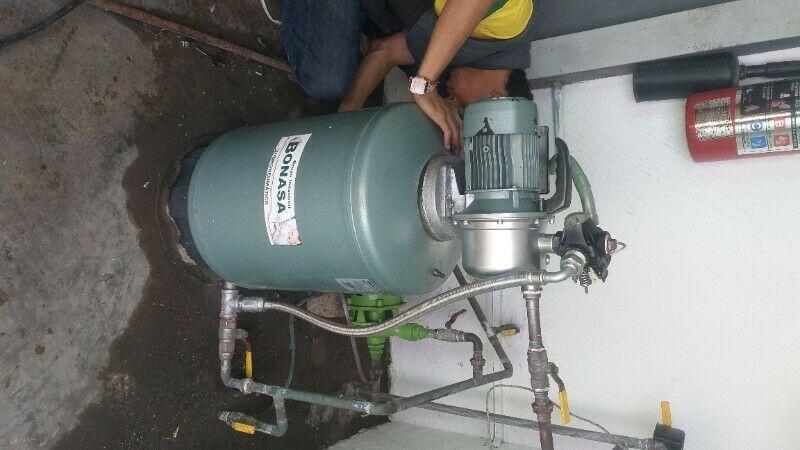 Reparación y instalación de hidro neumáticos y bombas de