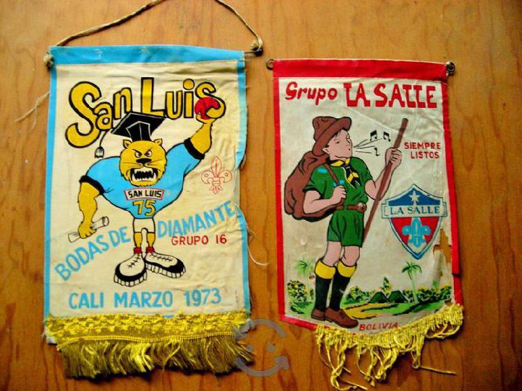 Banderines SCOUT de los 70's