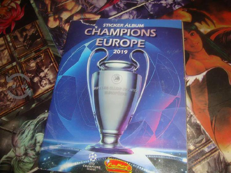 Champions Europe 2019 Panini