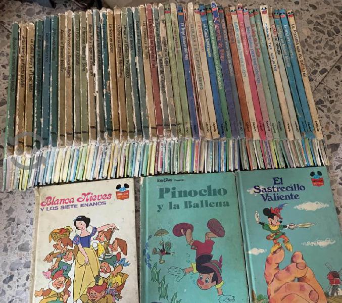 Colección de libros Walt Disney